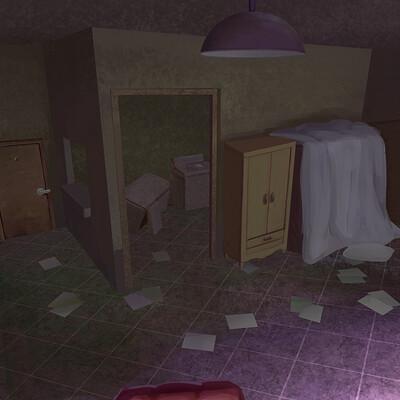 Rude roo dark room