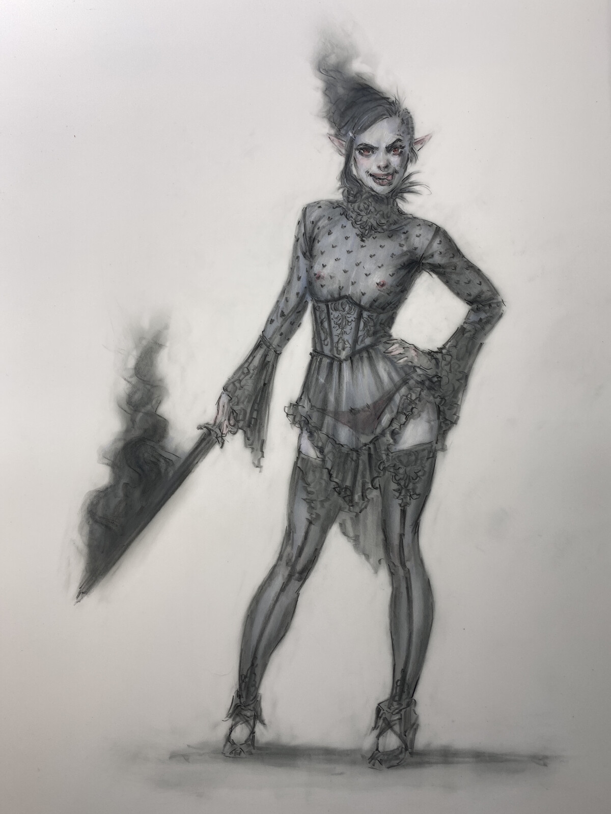 Shadow Elf & Demon In Lace