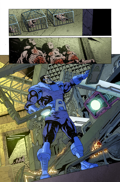 X-Men Black Apocalypse page