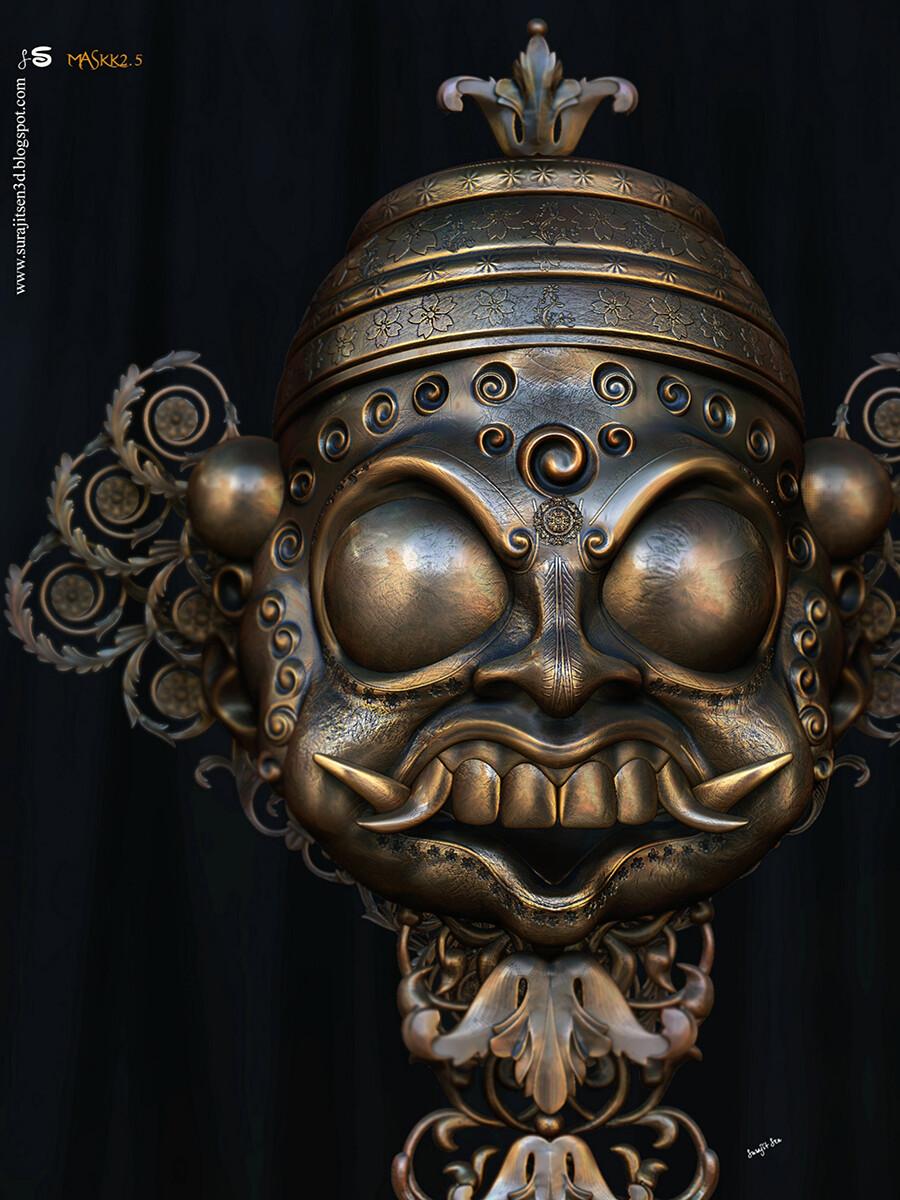 #flashback2020  Maskk2.5 Digital Sculpture Updated version Wish to share.