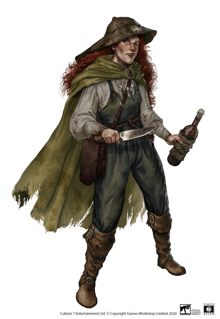 Theresia Kleist – Nordland Sailor for Warhammer Fantasy Roleplay