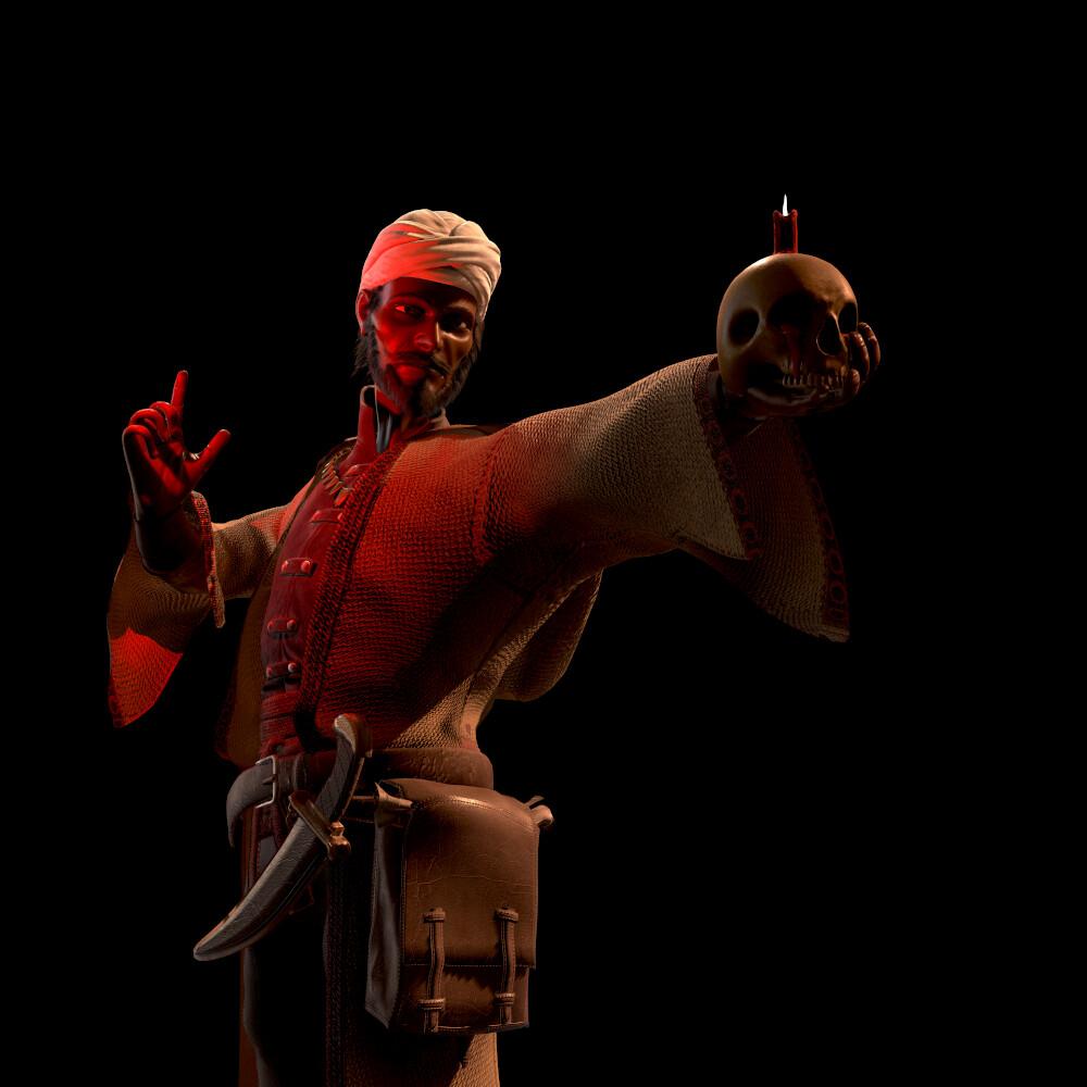 Darkest Dungeon - Occultist