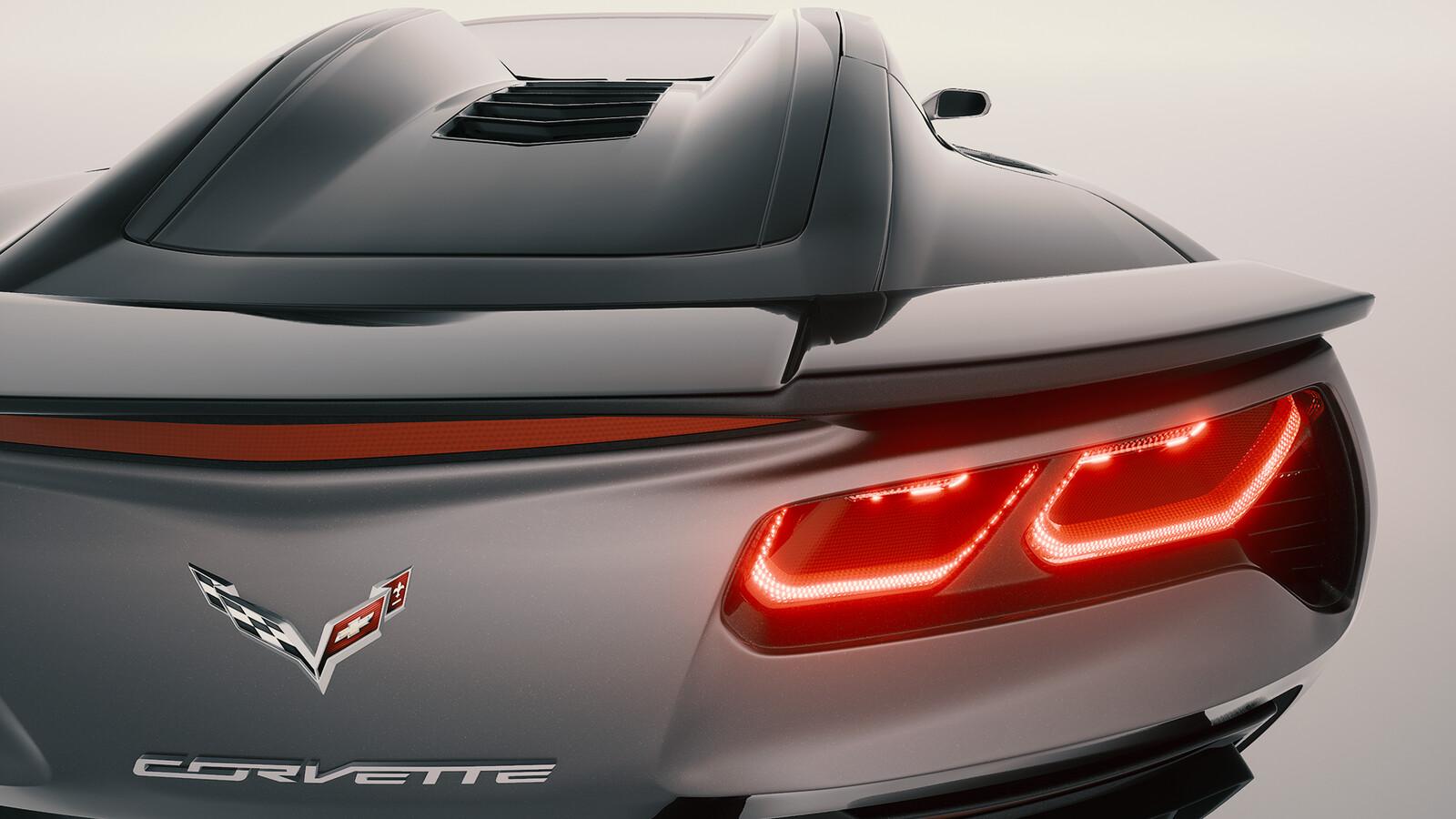 Corvette Z51 Stingray Unreal Engine