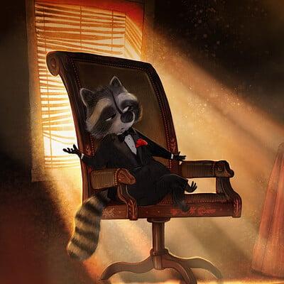 Aleksander jasinski raccoon