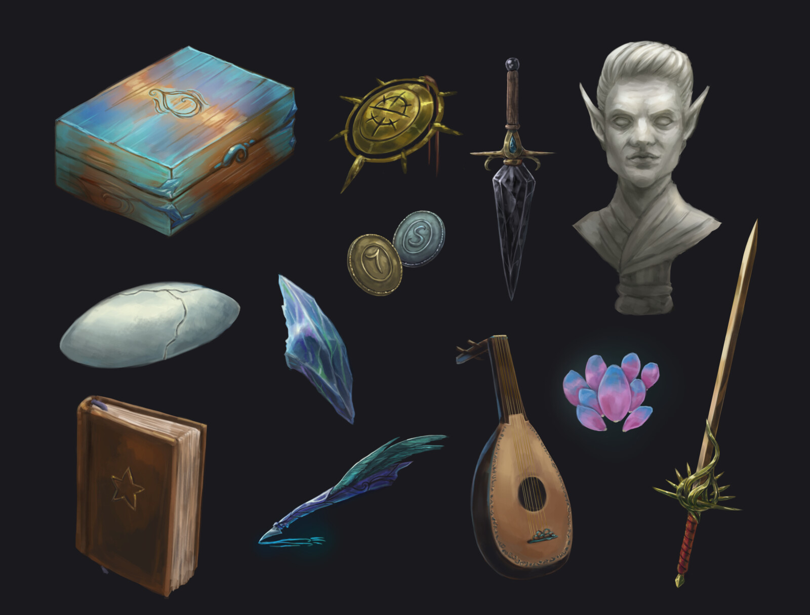 Song of the Ancients Items