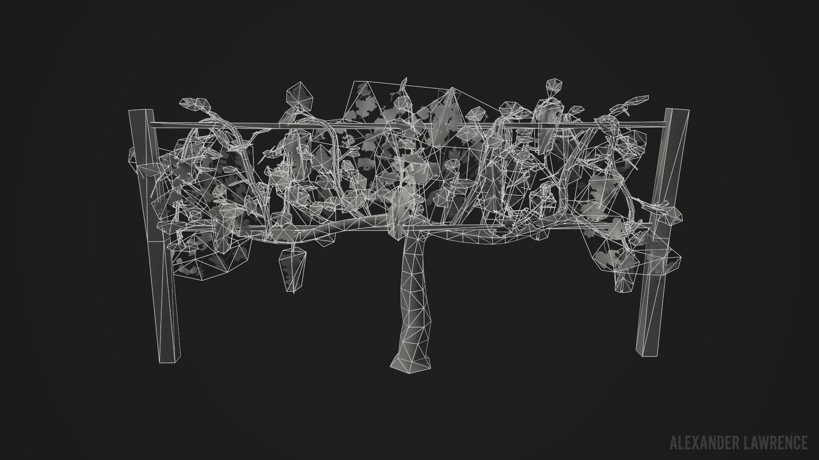 Grapevine wireframe