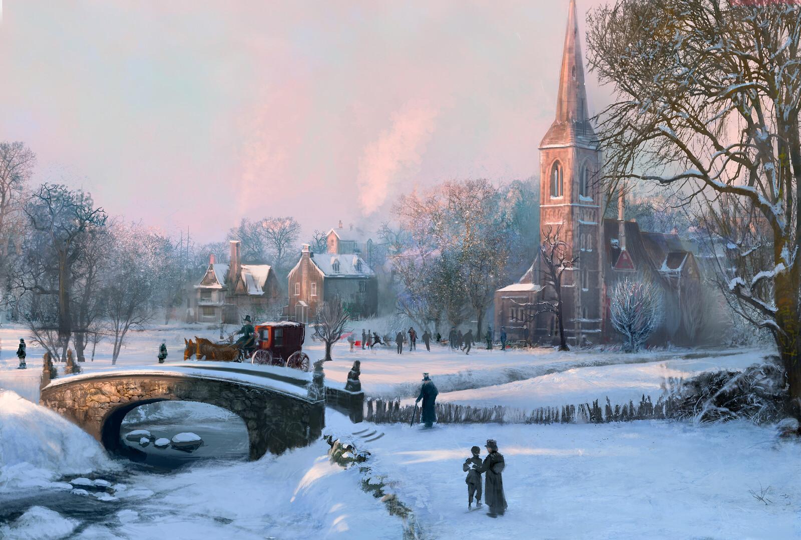 Christmas Carol Town