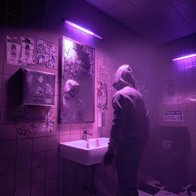 Skiegraphic studio daily mirror purple