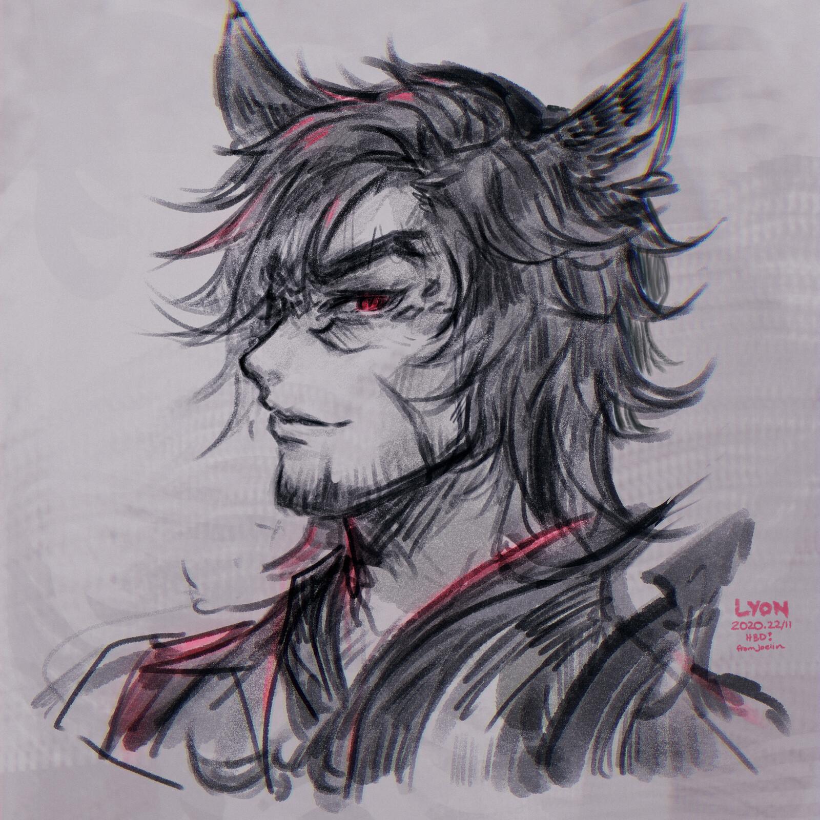 Lyon Sketch
