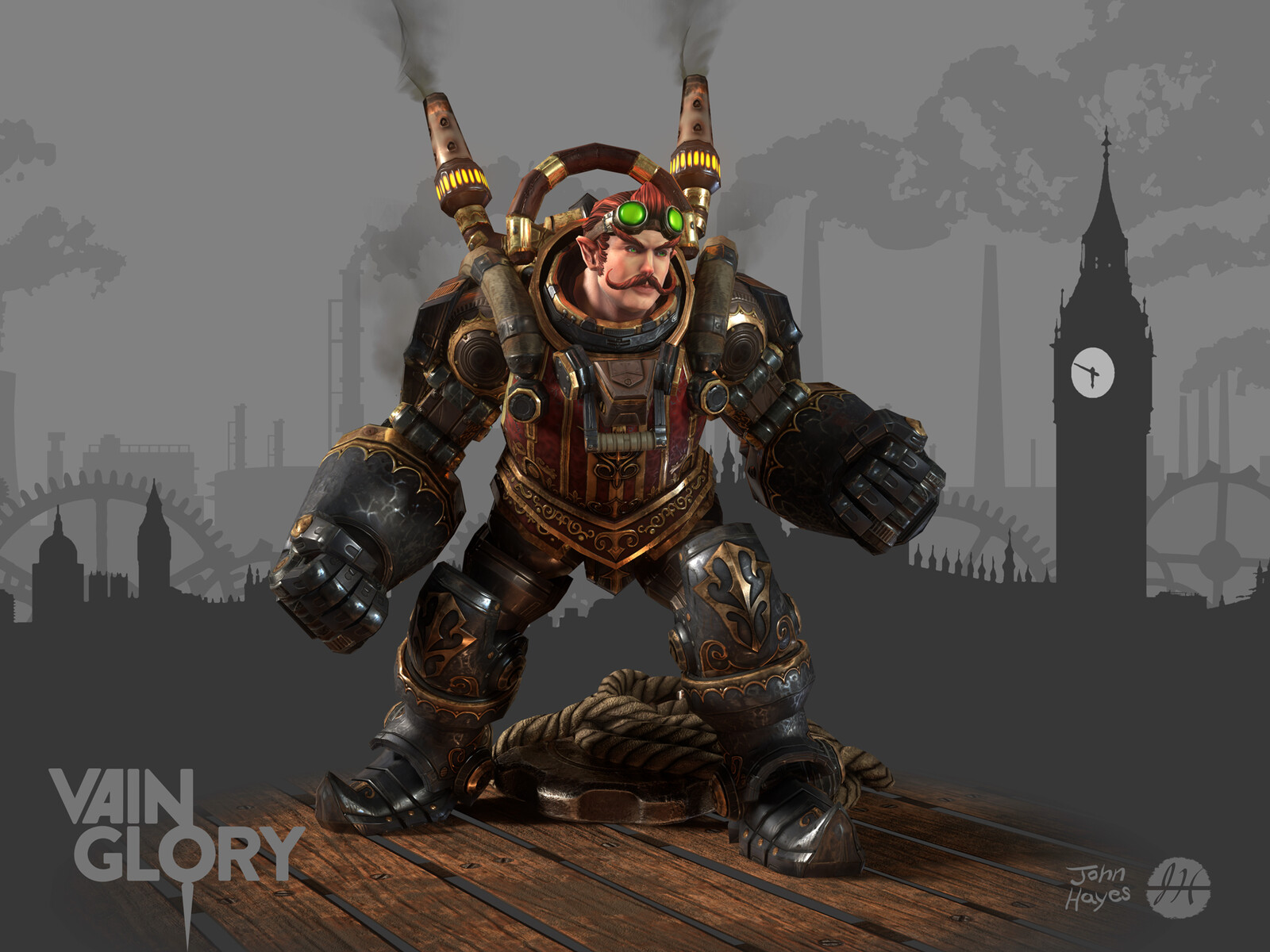 Steam Tony skin from Vainglory