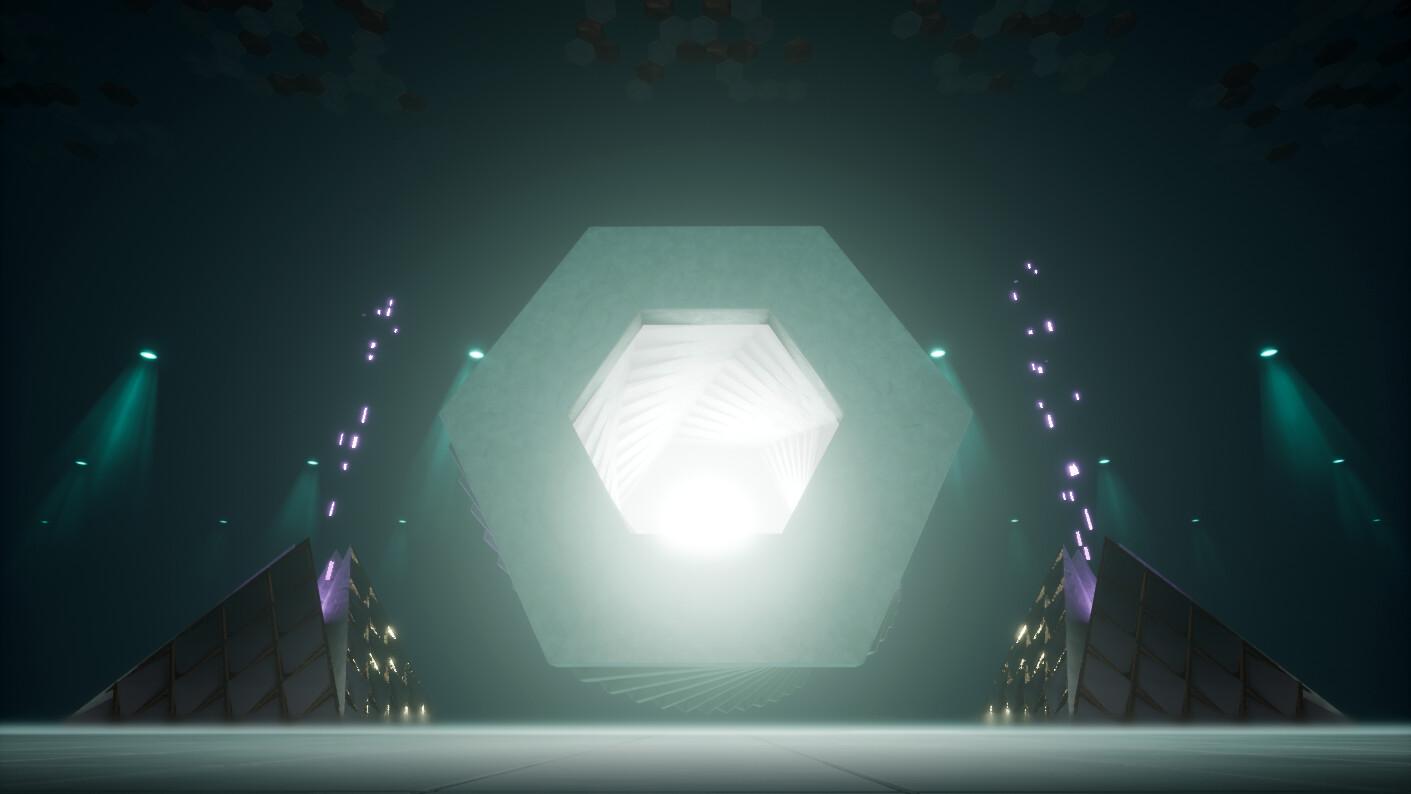 Hyperblade - Hyper Cube map