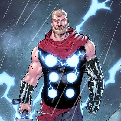 Maksim strelkov god of thunder ink by thomasblakeartist 3