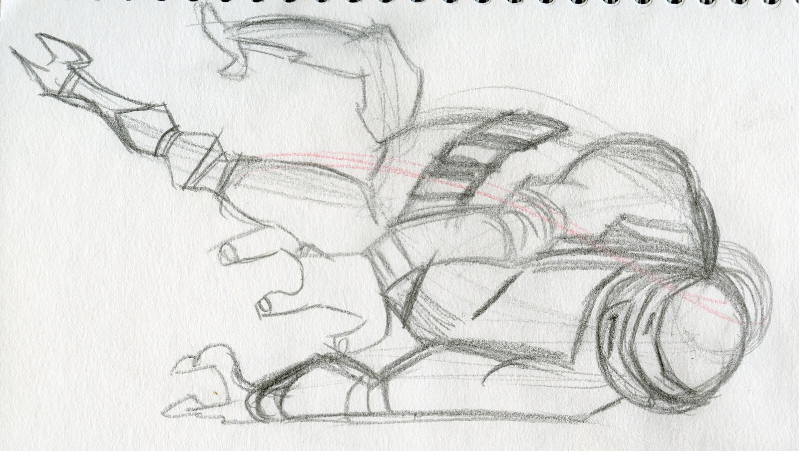 TMNT Practice Drawings