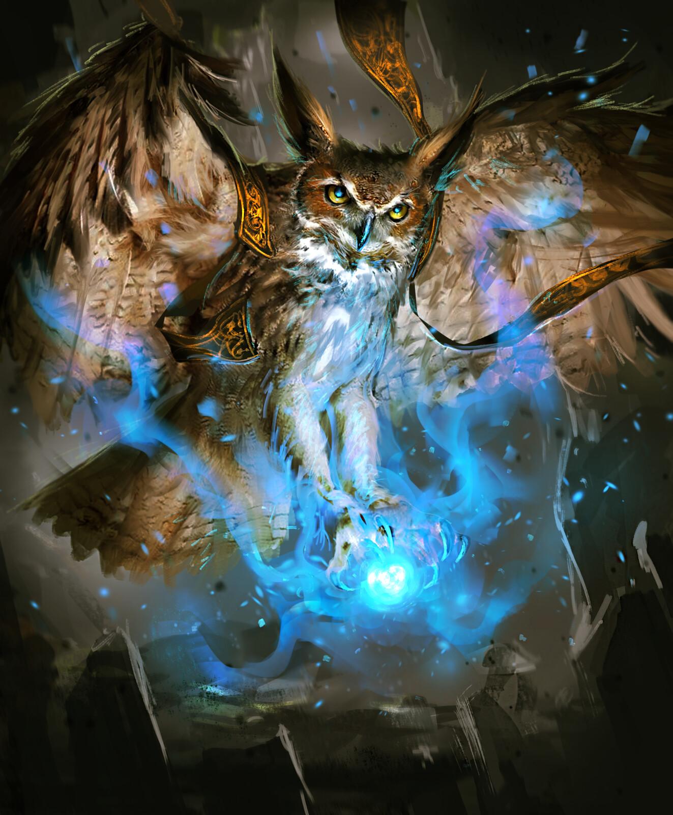 Owl Mage-Arcane Gladiator TCG