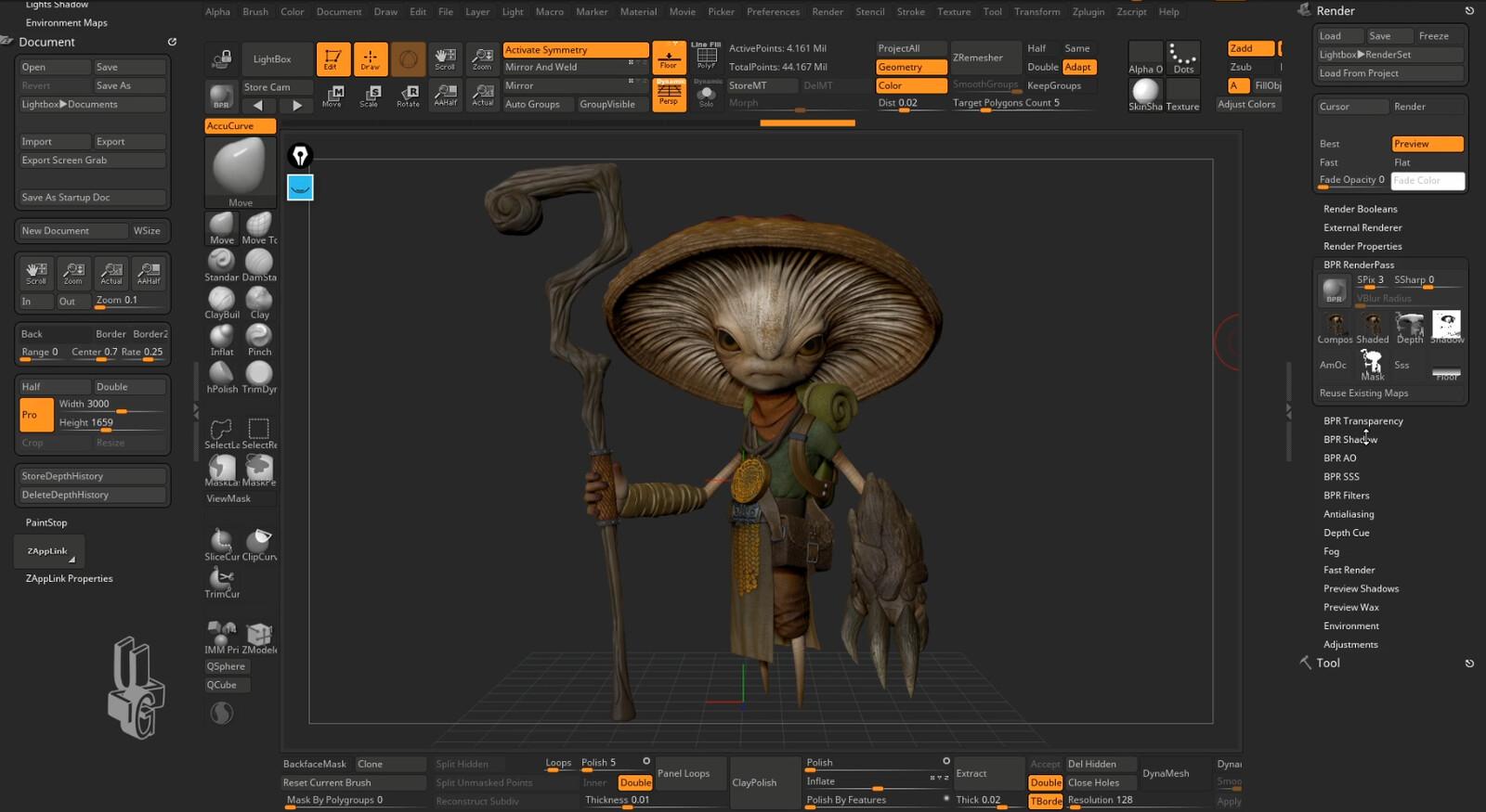 ZBrush course screenshot