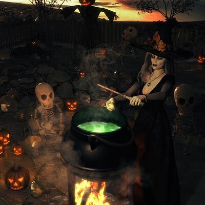 Lizzie prusaczyk d9s co witchs brew