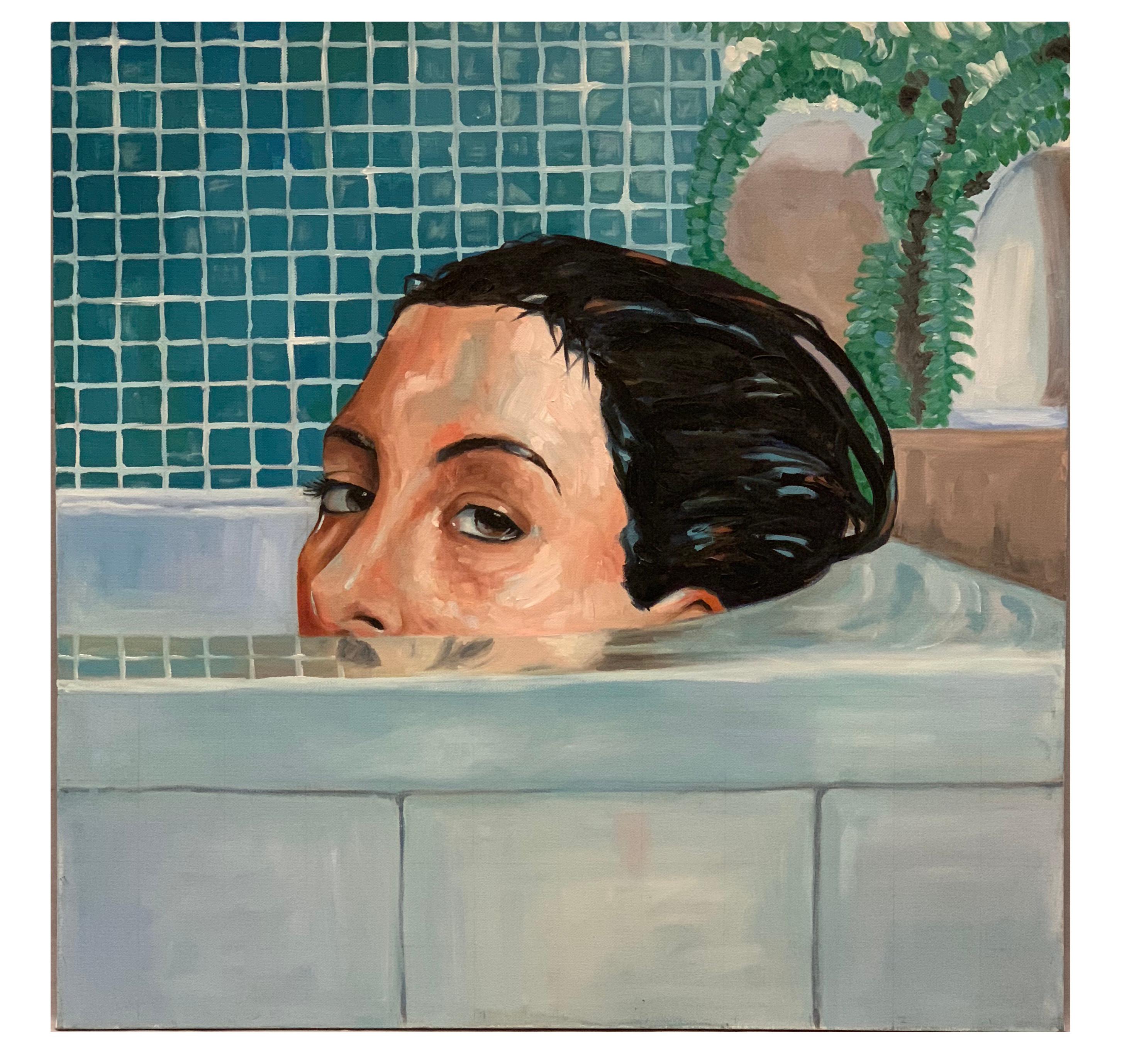 Oil paint on canvas Simon Davis Mastercopy