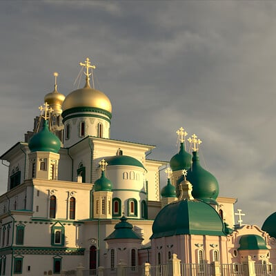 Student Work - Resurrection Cathedral 3D Recreation