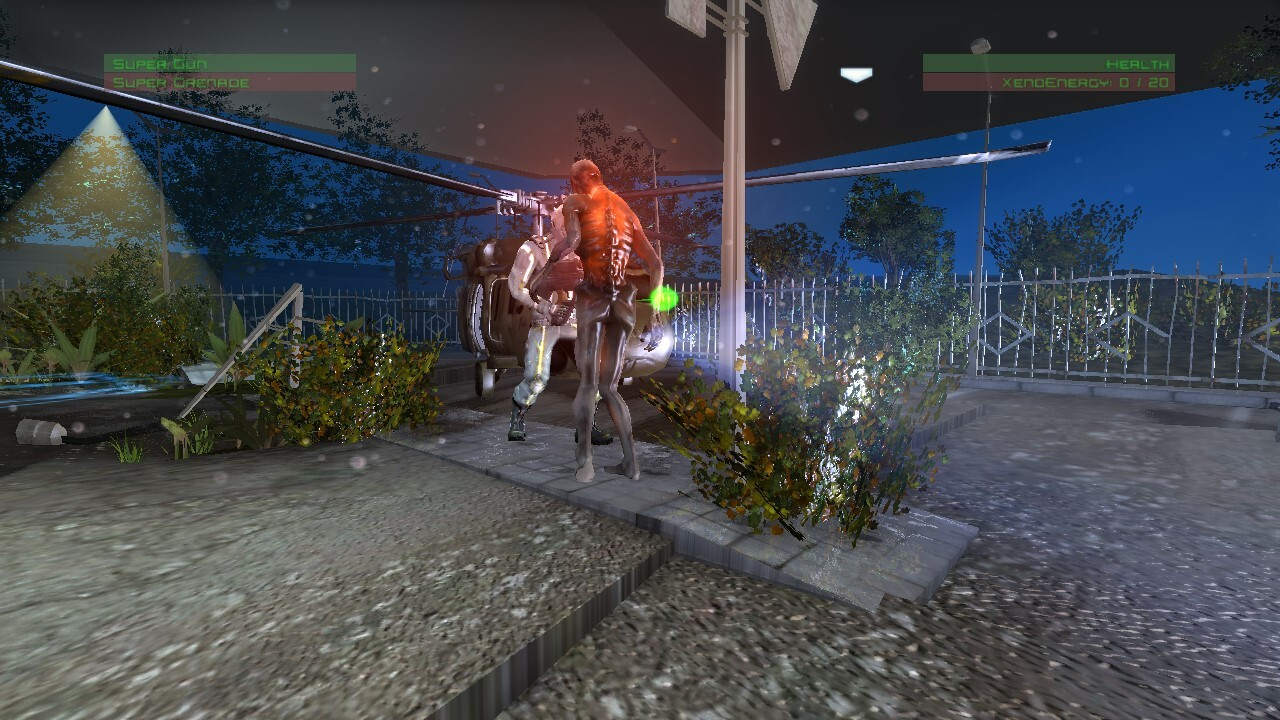 Screenshot from early version #2