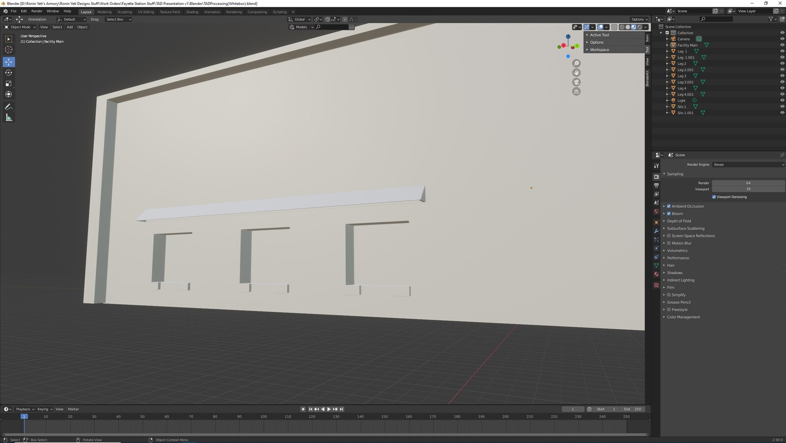 The second angle for the TAD Presentation Processing Facility (Whitebox version)