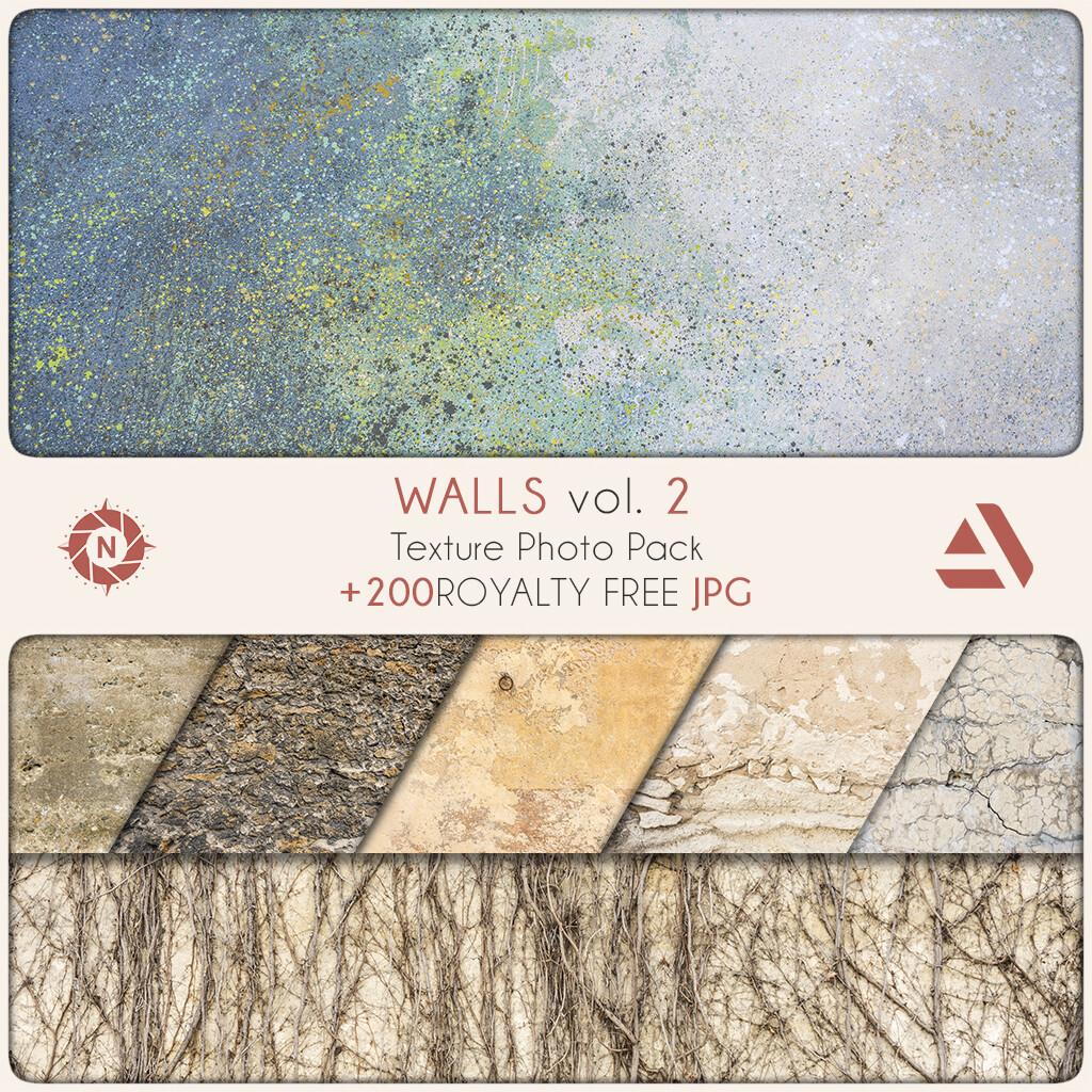 Texture Photo Pack: Walls volume 2  https://www.artstation.com/a/165777