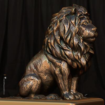 Surajit sen king2 5 digital sculpture surajitsen nov2020a l