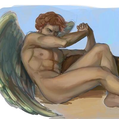 Fallen Angel - Study