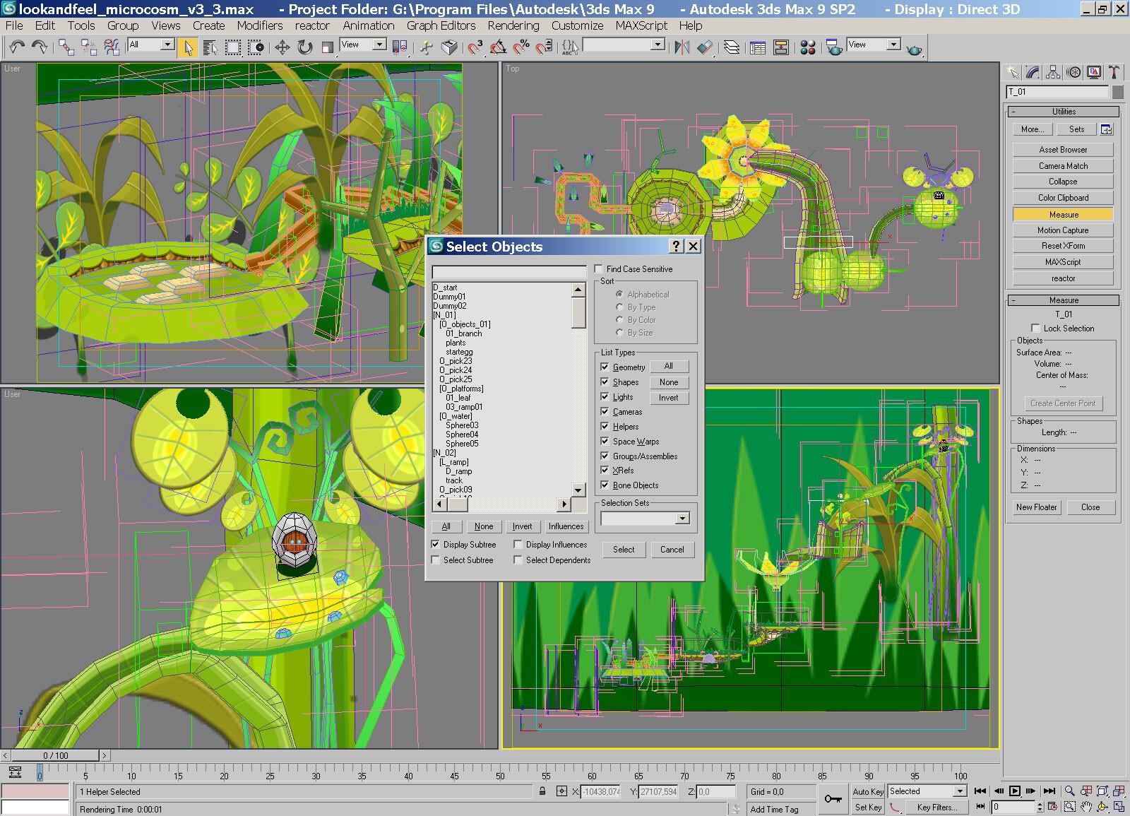Level design & modeling made for Bounce evolution