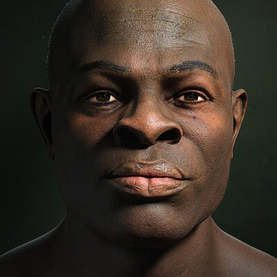African Male Portrait