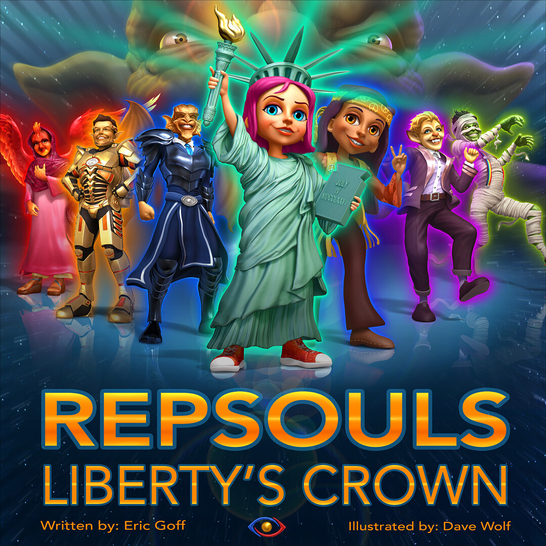 """REPSOULS: Liberty's Crown"" - Cover"