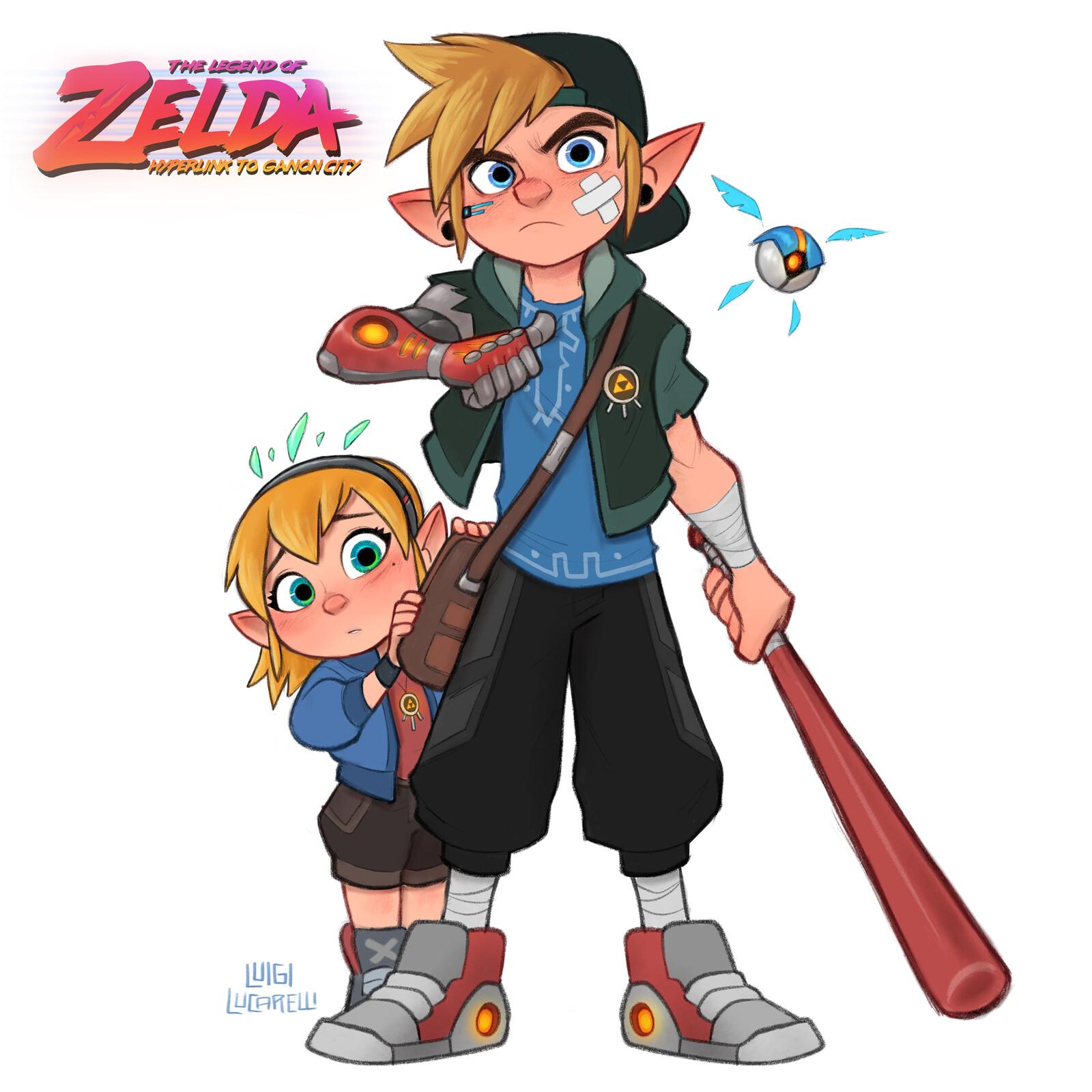 Hyperlink and Zelda