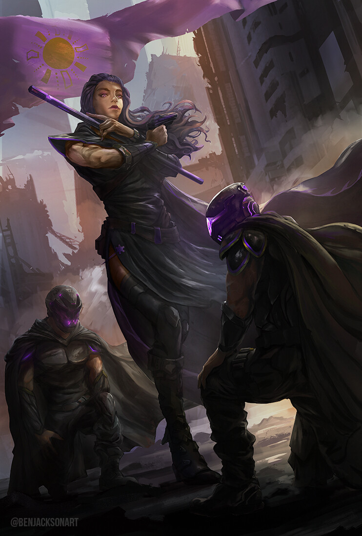 Inanna - The order of the Purple