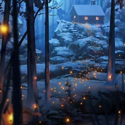 Daily Sketches - Winter
