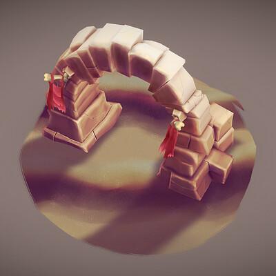 Jarien skywall jarien skywall desert arch img01