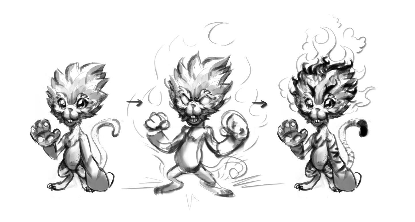 Initial idea sketch