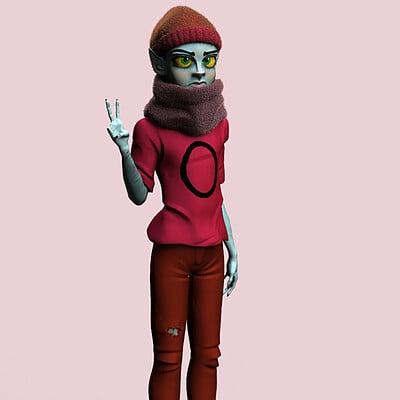 Hipster Orko from MOTU