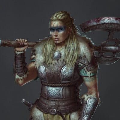 Niwa jongkind helga the viking chieftan small