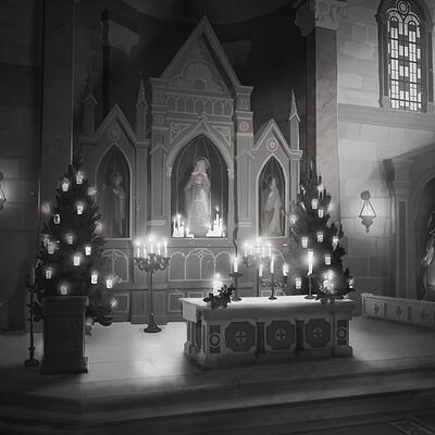 Amandine aramini int church altar 07 s ok