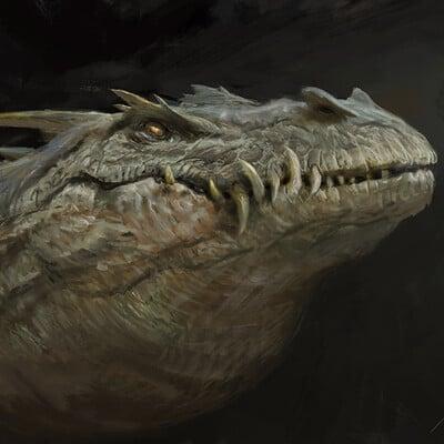 Antonio j manzanedo dragon study manzanedo