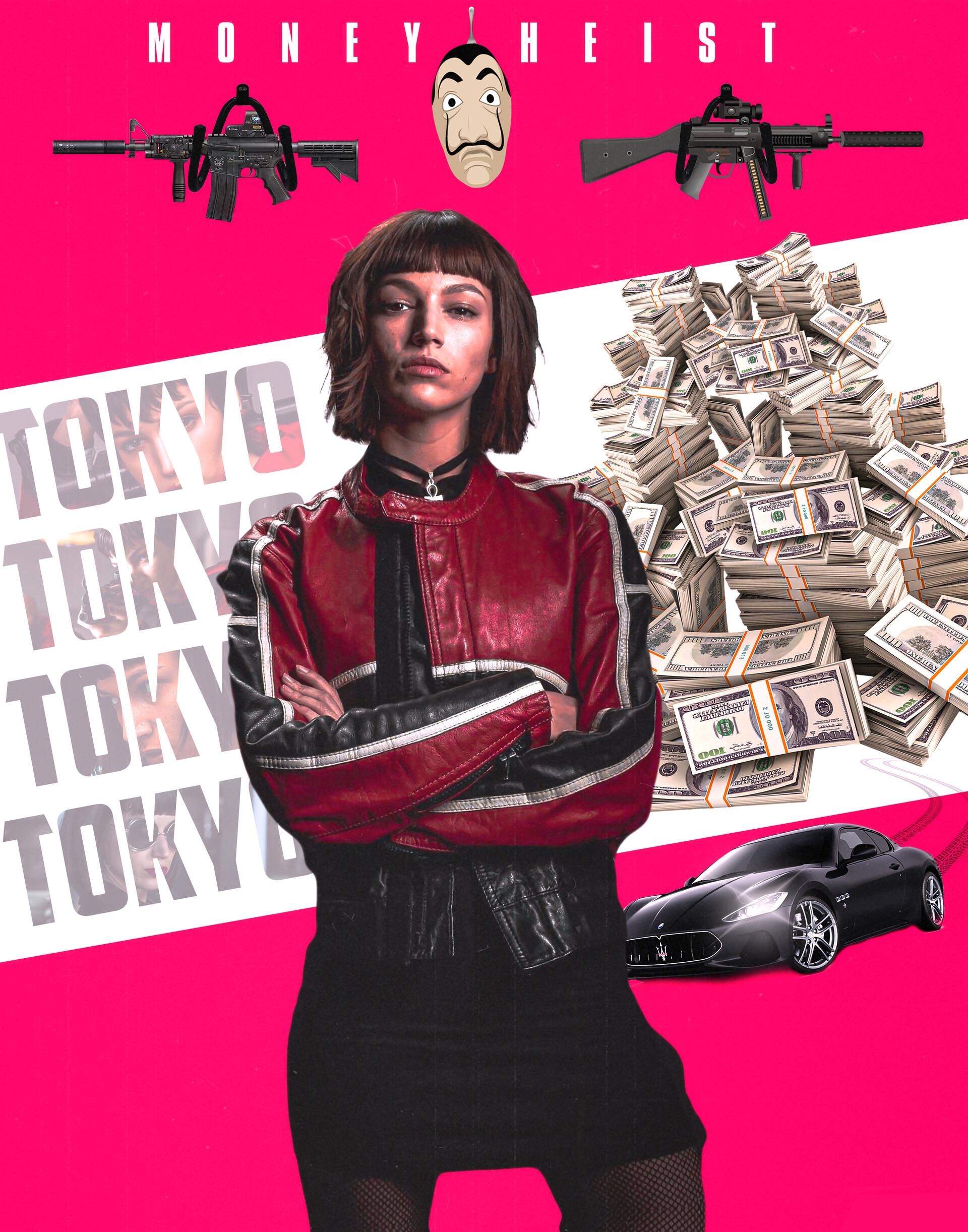 Artstation Tokyo La Casa De Papel Money Heist Syed Athar