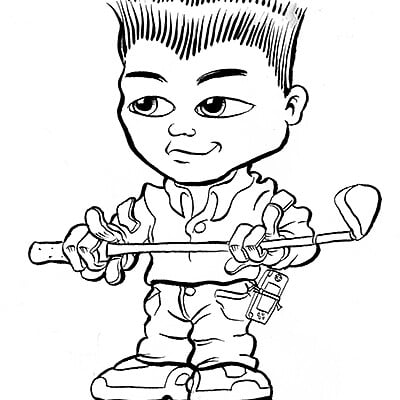 Miha rinne asian boy ink lores