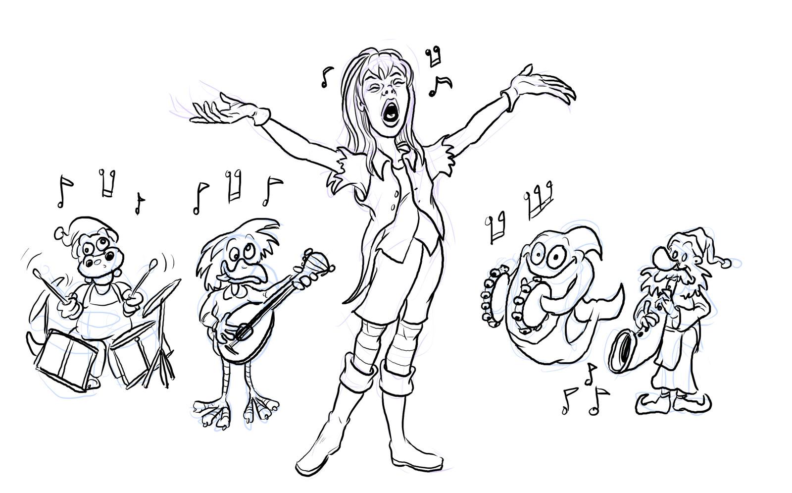 Lili singing