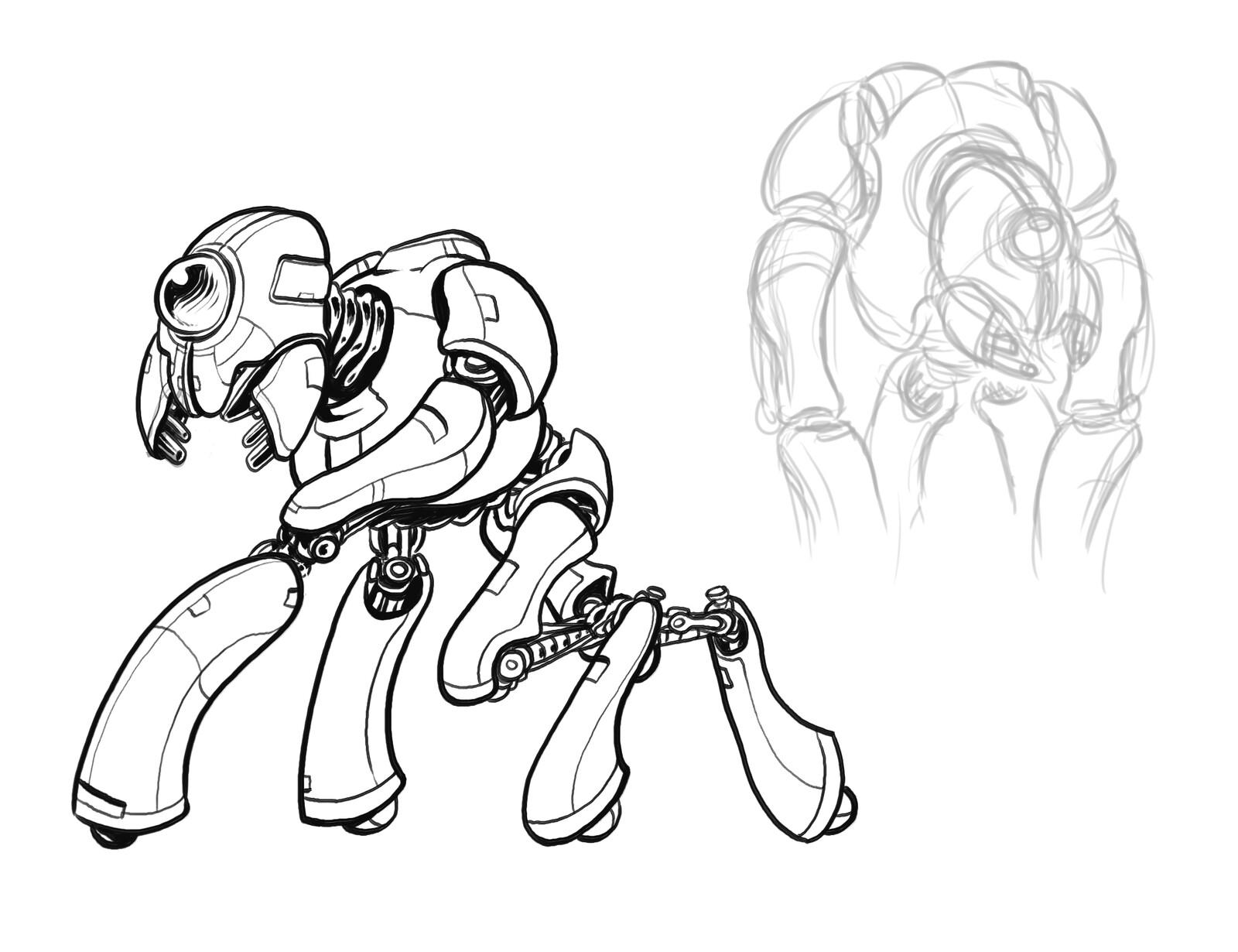 Original Tron assault bot
