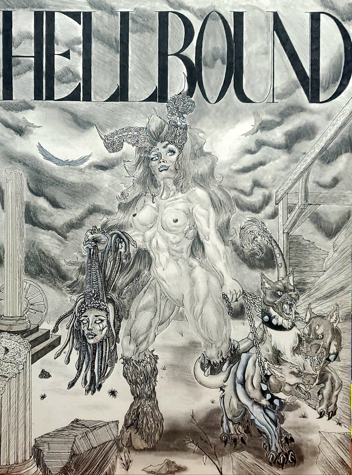 Naamah, on the cover of Hellbound Magazine