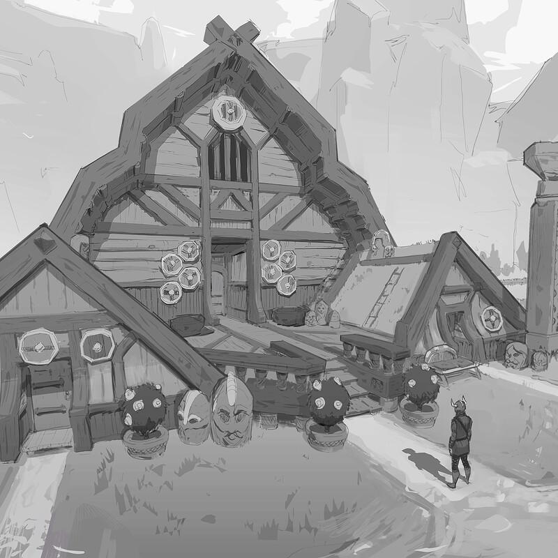 Yggdrasil's Rest - Town Hall