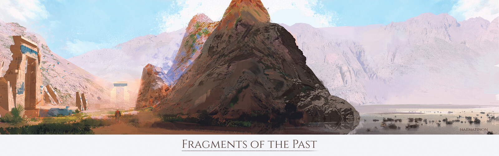 Phoinikobaptos Valley - Mentorship Demo / Fragments of the Past Illustration