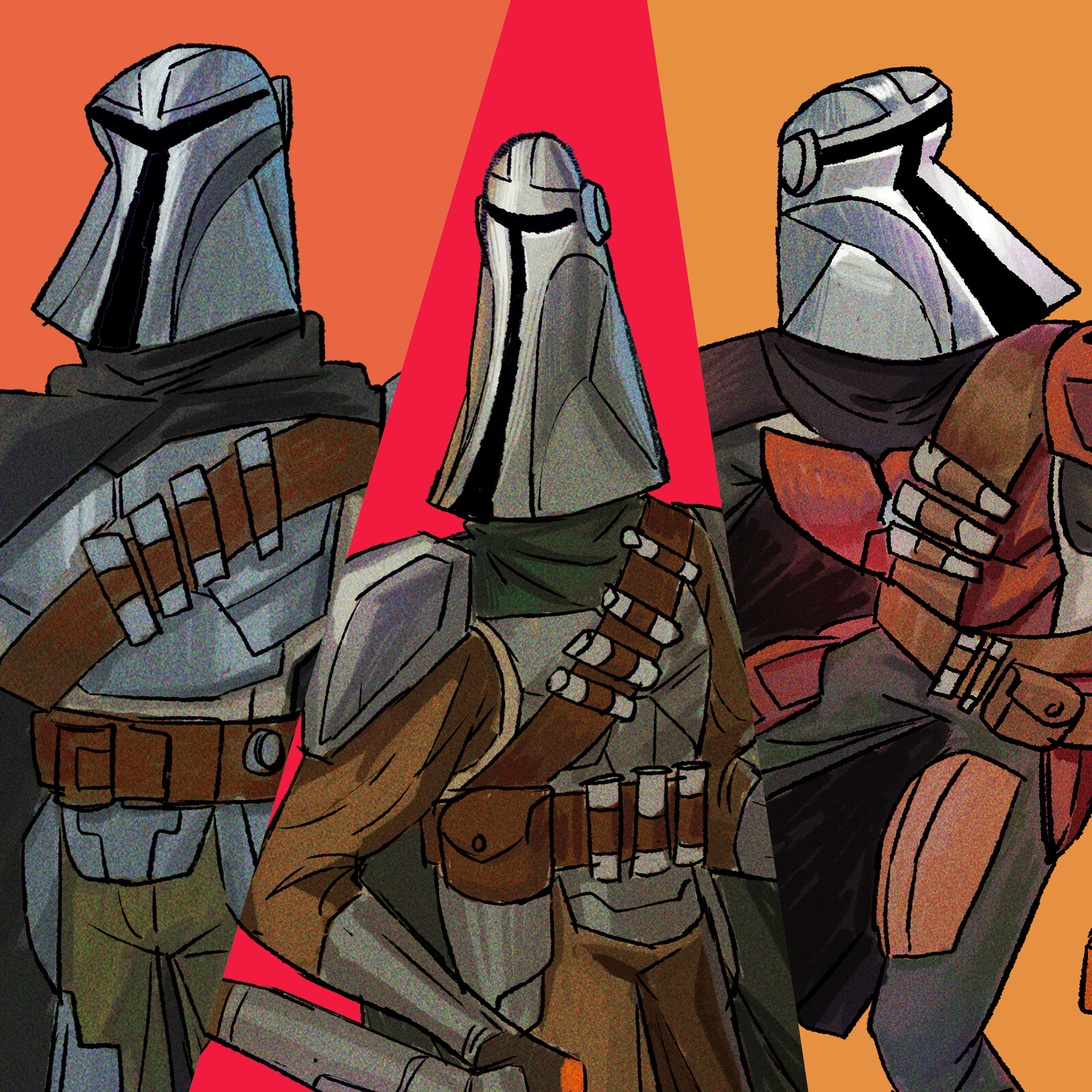 The Mandalorian Fanart