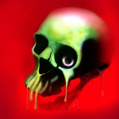 Nik causevig skull tq fantasy red green 01 interpretation web