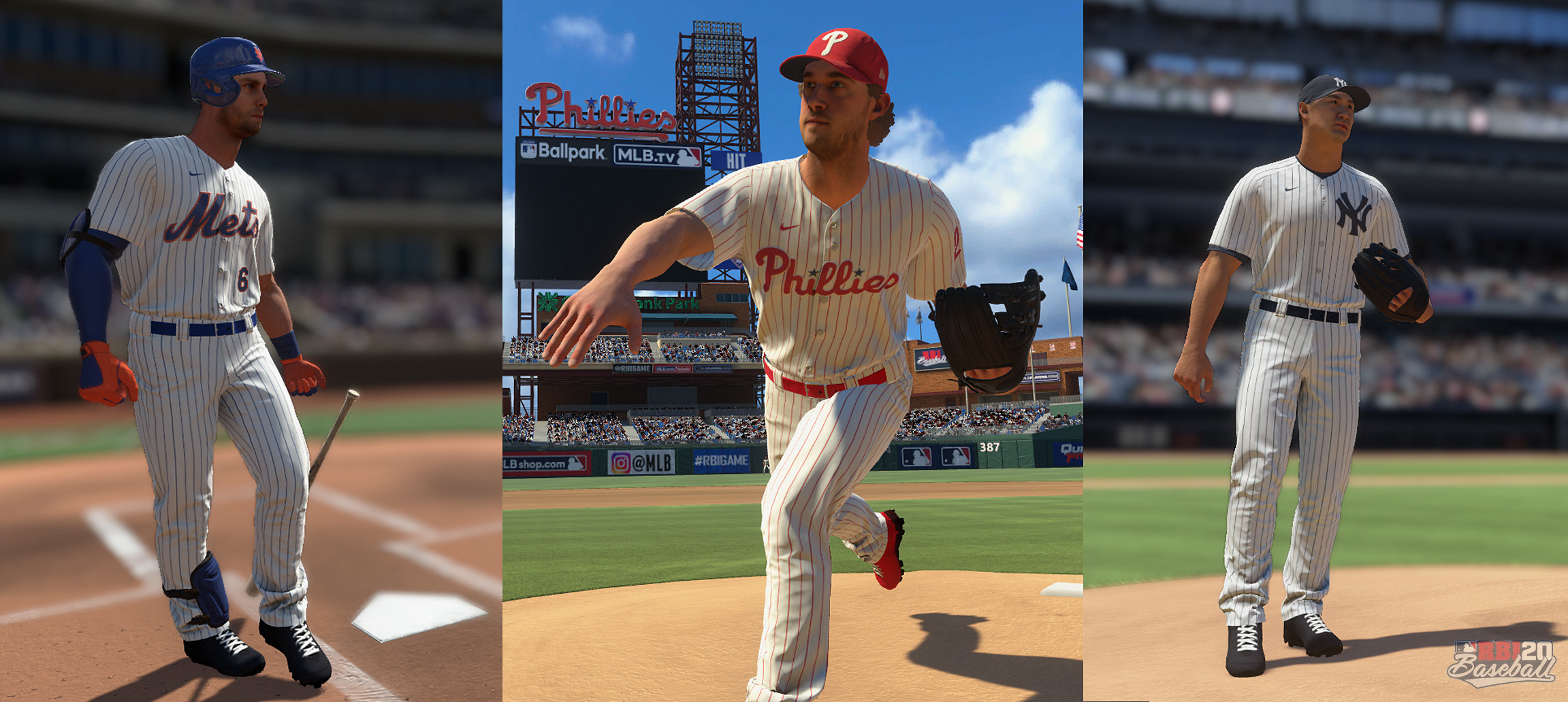 As art director I focused heavily on uniform detail and player head scans.