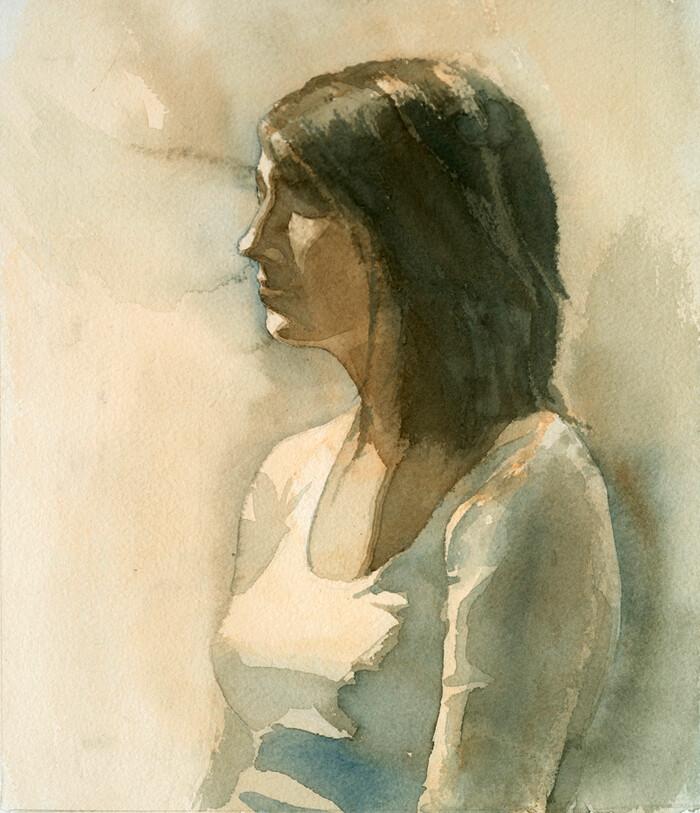 Watercolor Life Studies